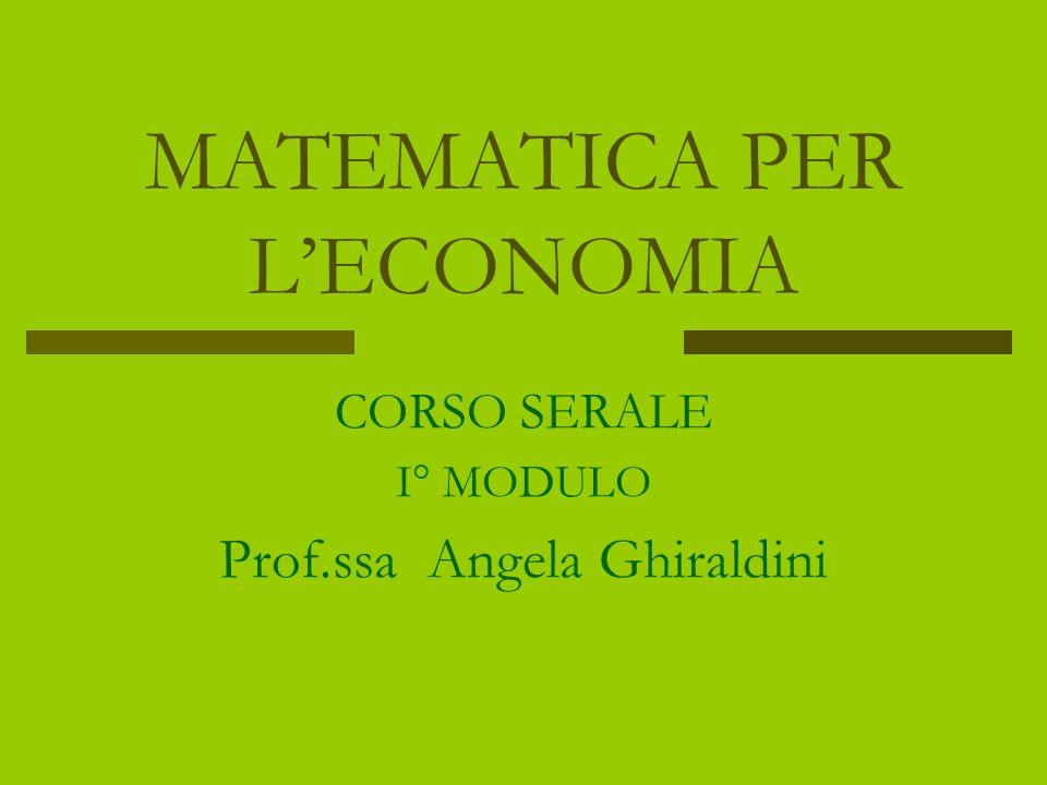 EQUAZIONI ALGEBRICHE di II°grado Se lequazione è INCOMPLETA, per individuare le soluzioni si procede in maniera distinta a seconda che sia pura o spuria Equazione spuria: ax² + bx = 0 Si raccoglie lincognita a fattor comune ottenendo lequazione x(ax+b) = 0 Per la legge dellannullamento del prodotto segue che le soluzioni reali e distinte sono x = 0 e x = - b/a Equazione pura: ax² + c = 0 Applicando i principi di equivalenza si ottiene lequazione x² = - c/a Da cui si ottengono le due soluzioni x = - (-c/a) e x = + (-c/a) reali solo se –c/a > 0 A.GHIRALDINI
