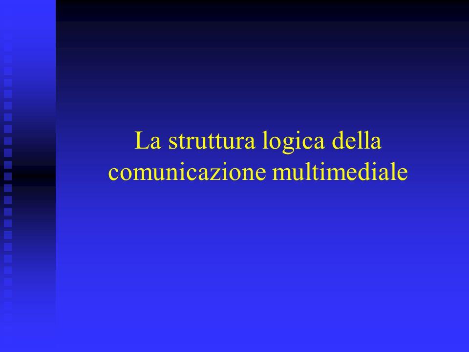La struttura logica della comunicazione multimediale