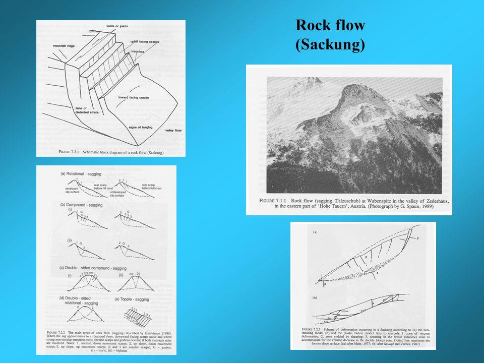 Rock flow (Sackung)