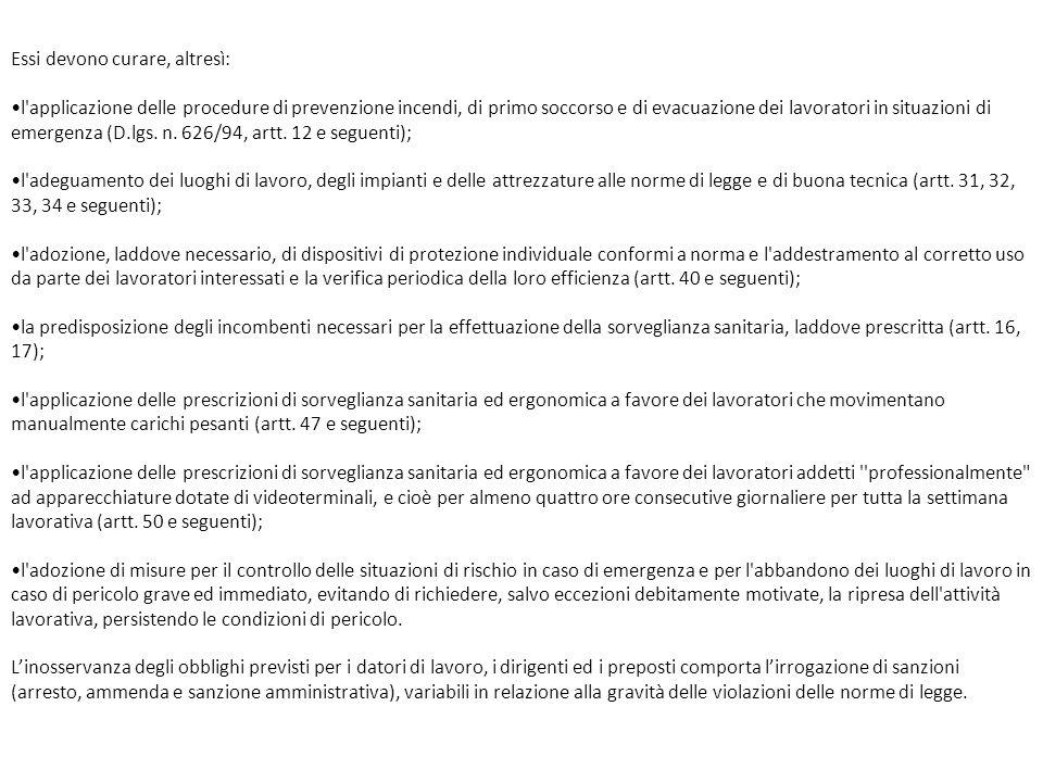 Provvedimenti in caso di dispersione accidentale.