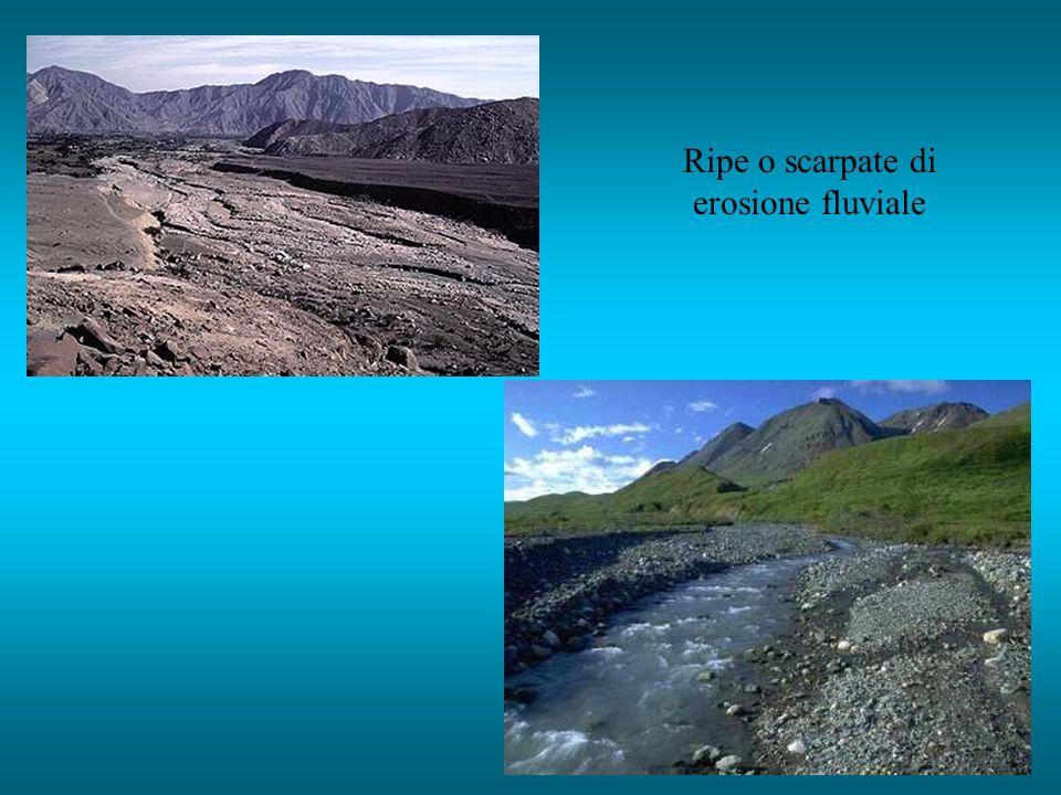 Ripe o scarpate di erosione fluviale