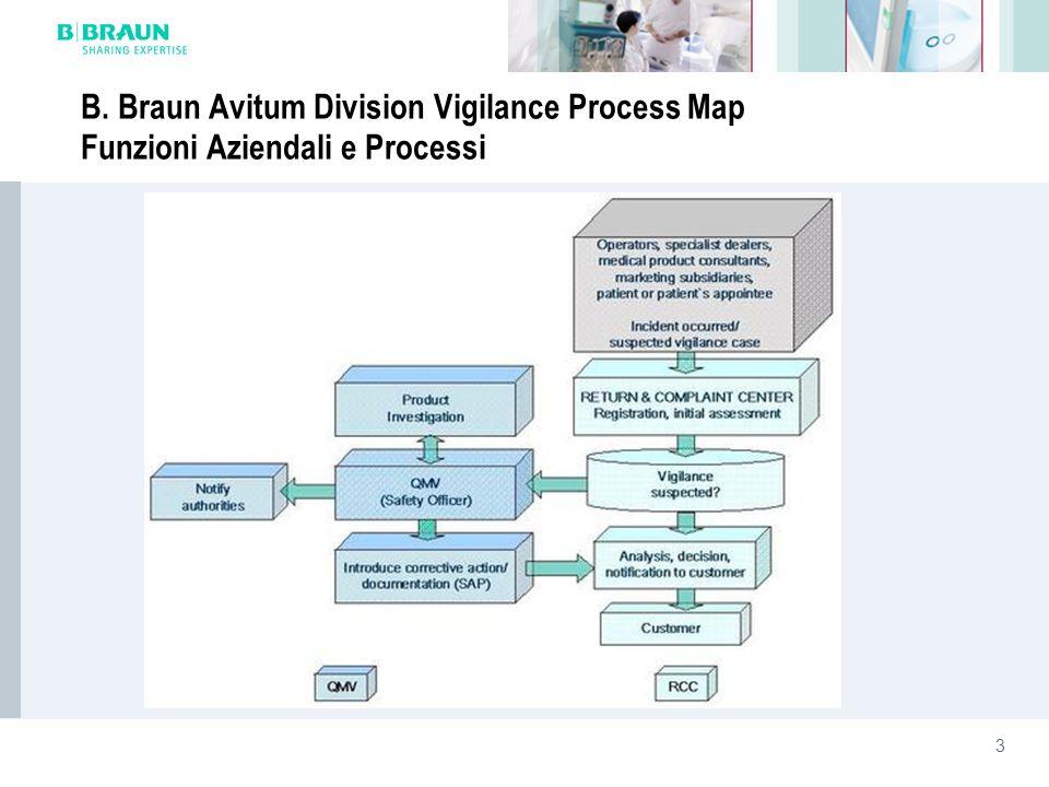 3 B. Braun Avitum Division Vigilance Process Map Funzioni Aziendali e Processi