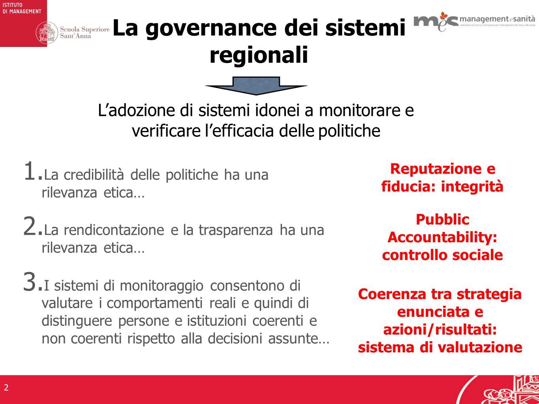 3 INTEGRITA E REPUTAZIONE : THE WORLD BANK CONTROL OF CORRUPTION INDEX (2011)