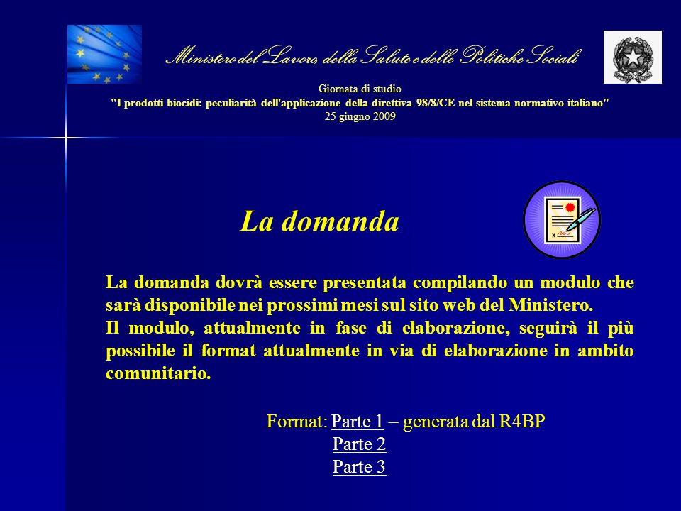 Ministero del Lavoro, della Salute e delle Politiche Sociali Giornata di studio