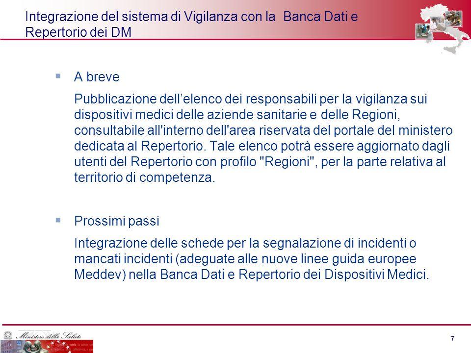 6 6 Risultati immediati del progetto Effettuare analisi quantitative e qualitative dei dispositivi presenti sul mercato italiano Effettuare il monitor