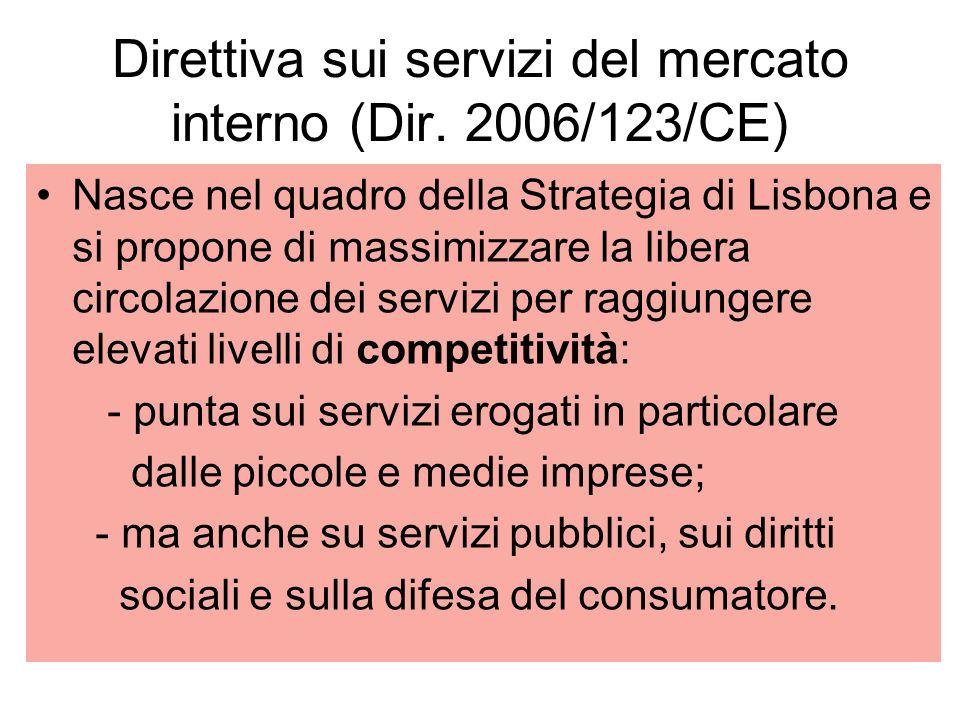 Direttiva sui servizi del mercato interno (Dir.