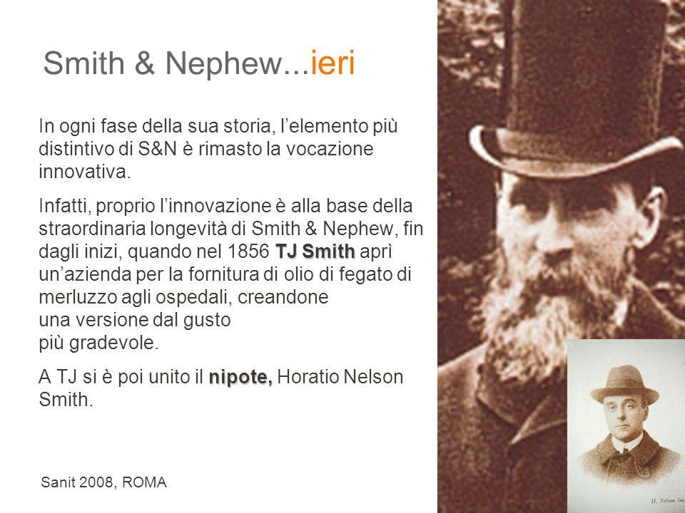 Sanit 2008, ROMA In ogni fase della sua storia, lelemento più distintivo di S&N è rimasto la vocazione innovativa.
