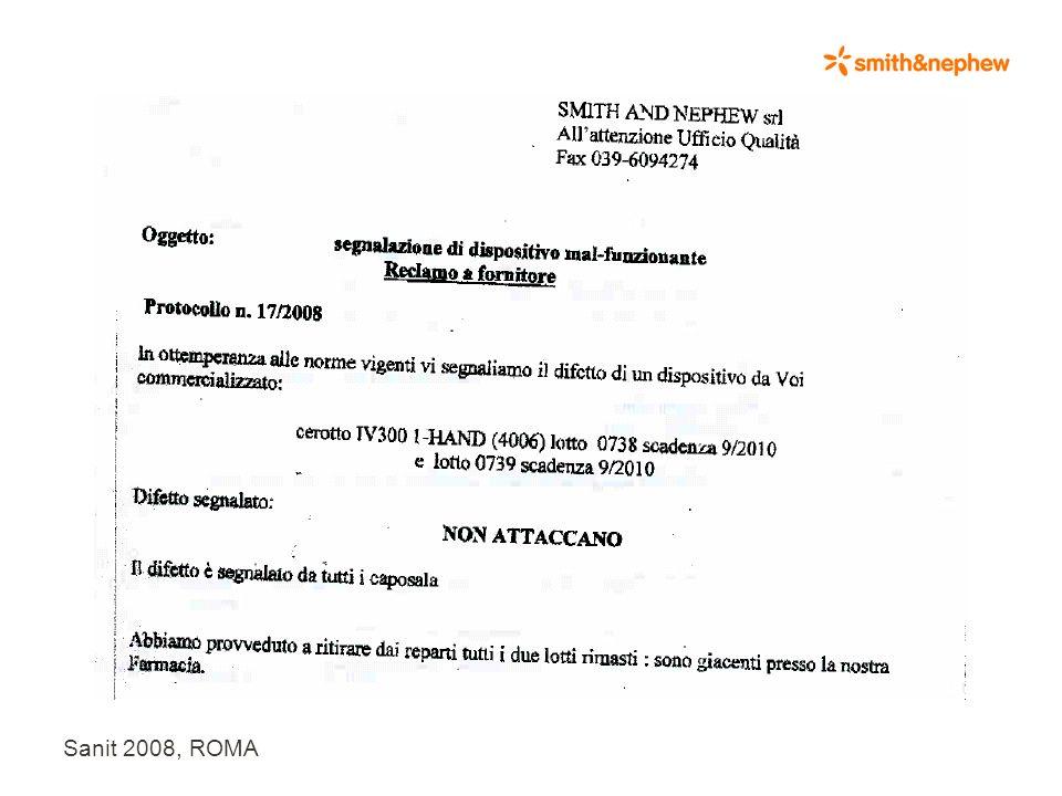 Sanit 2008, ROMA Indice 1.Il contesto aziendale 2.Ruolo dellutilizzatore nelle nuove MDVS Guidelines 3.Quali utilizzatori segnalano ? Quante segnalazi