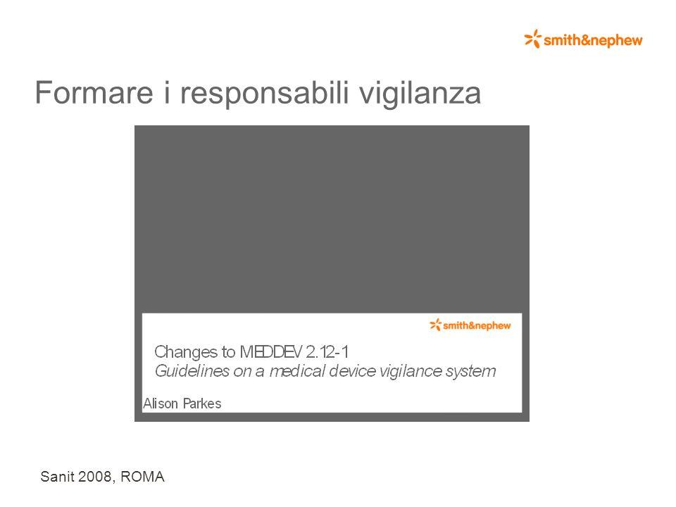 Sanit 2008, ROMA Ottimizzare i processi e le procedure ?
