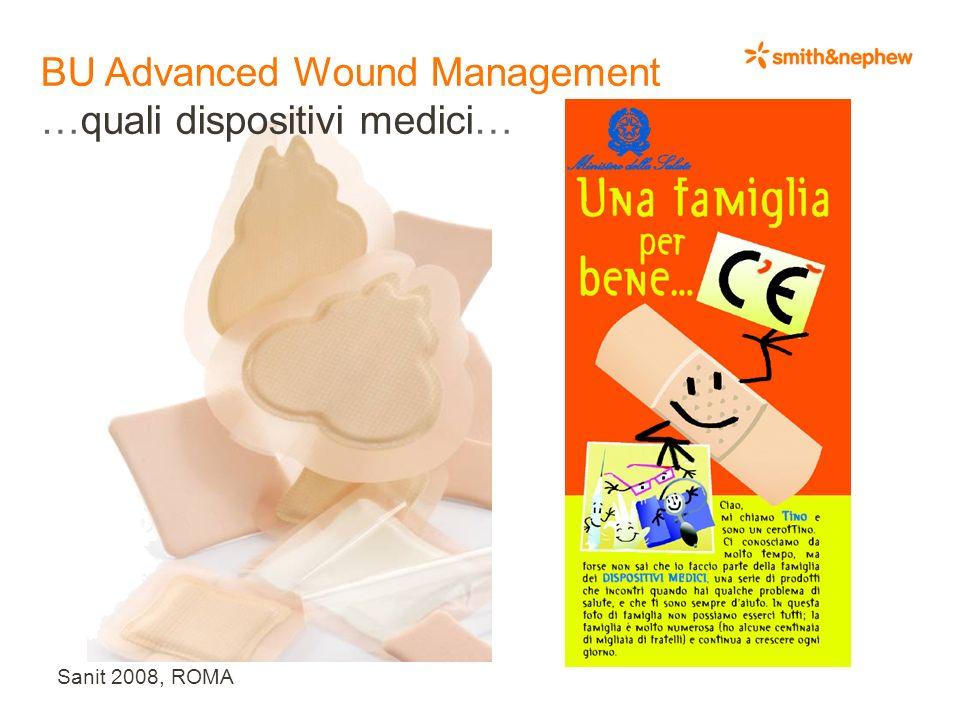 Sanit 2008, ROMA BU Advanced Wound Management …quali dispositivi medici…