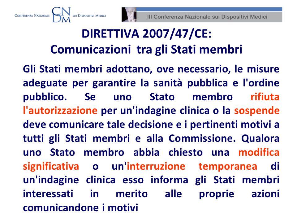 Agli articoli 7 e 14 rispettivamente dei DD.Lgs 507/92 e 46/97 vengono identificate le Strutture sanitarie nelle quali è possibile svolgere indagini cliniche con dispositivi medici Indagini cliniche: centri di sperimentazione (1/4)