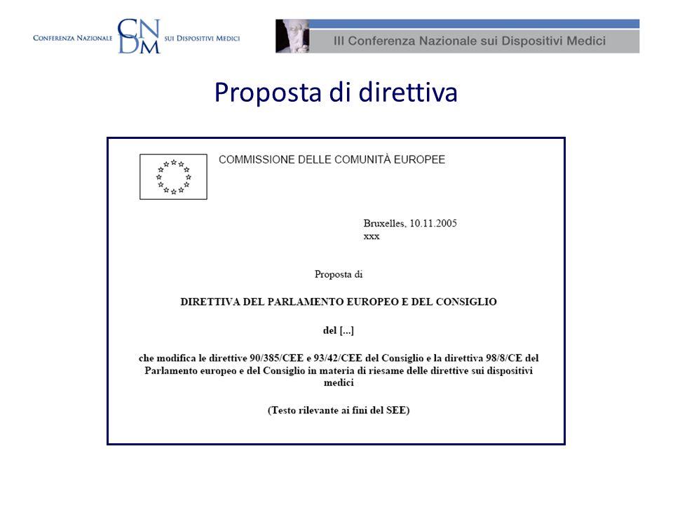 La Direttiva 2007/47/CE