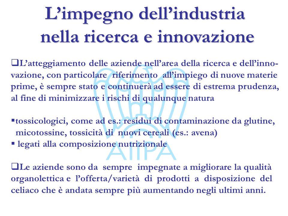 Limpegno dellindustria nella ricerca e innovazione nella ricerca e innovazione Latteggiamento delle aziende nellarea della ricerca e dellinno- vazione