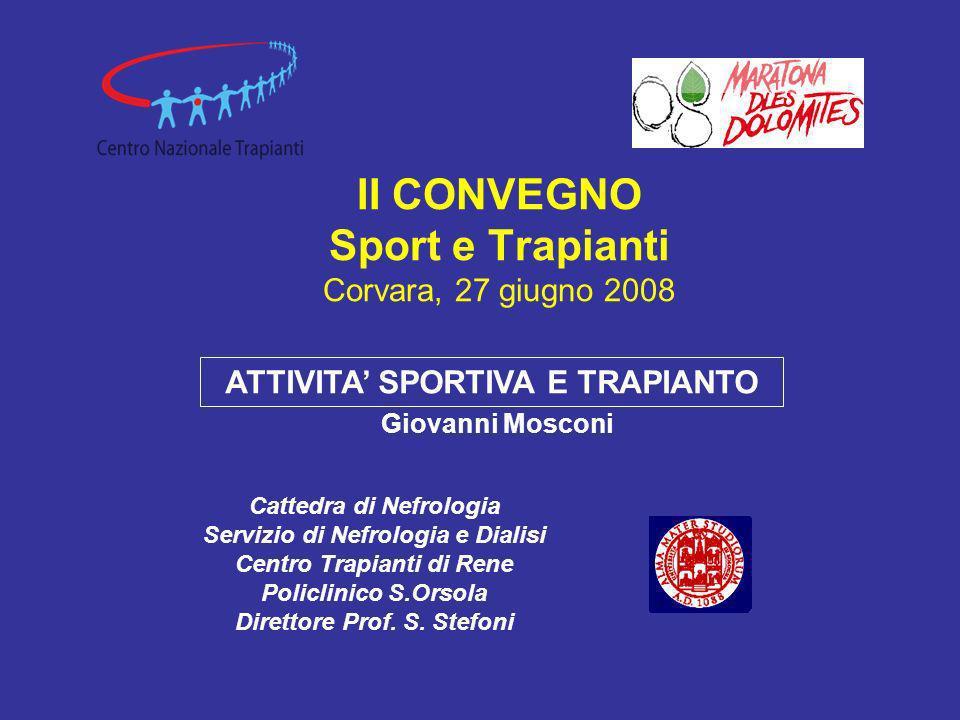 Donatore Cadavere Centro Trapianti di Rene Bologna S.