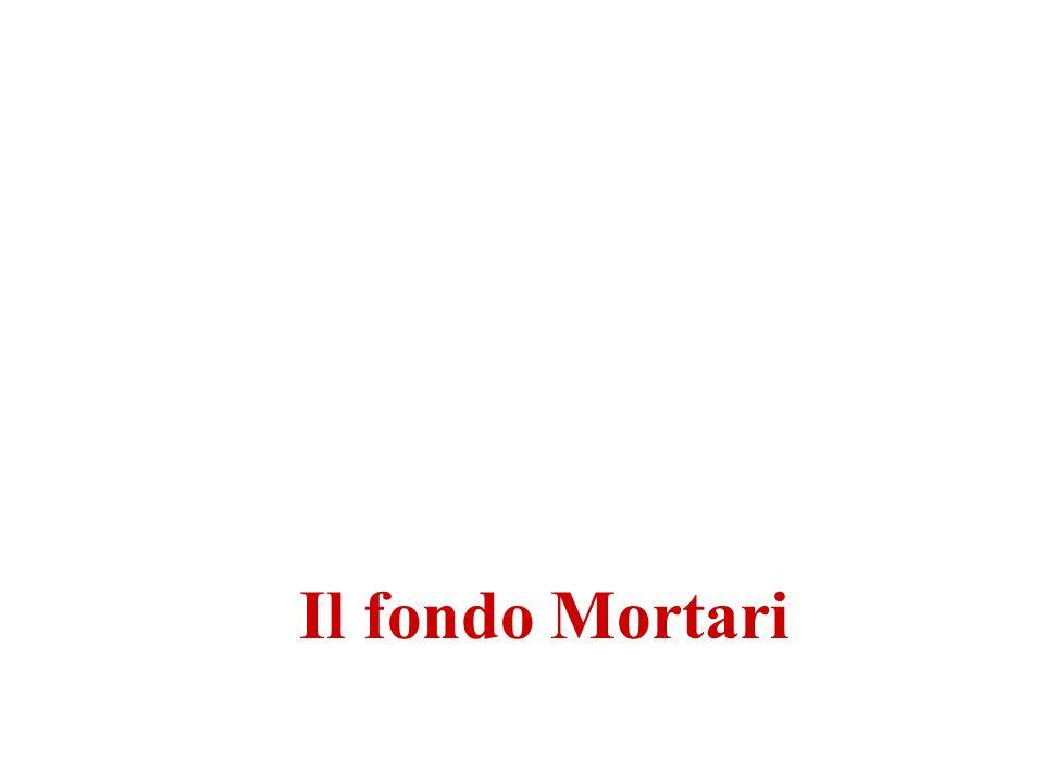 Il fondo Mortari