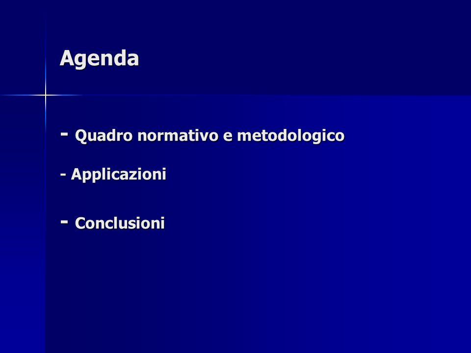 Parte I Quadro normativo e metodologico