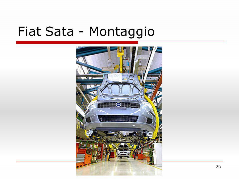 26 Fiat Sata - Montaggio