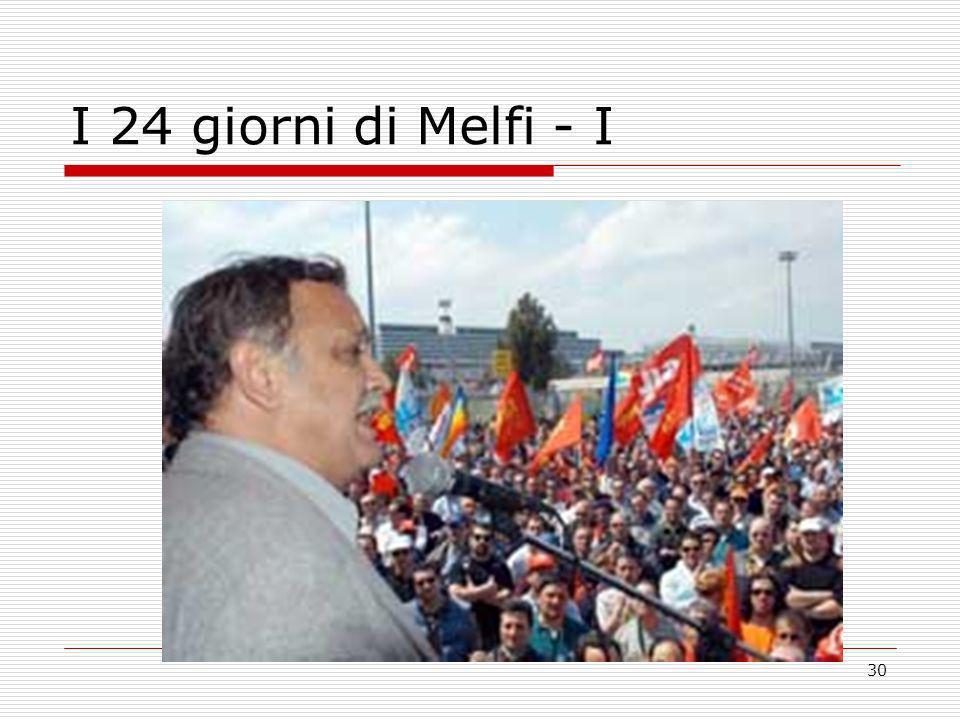 30 I 24 giorni di Melfi - I