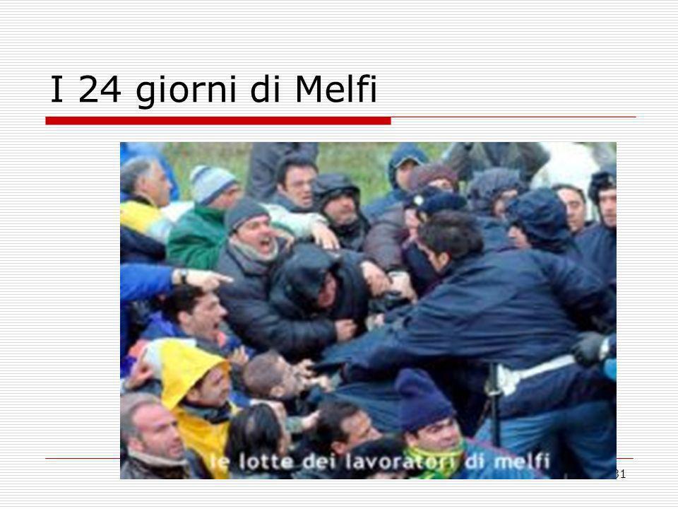 31 I 24 giorni di Melfi
