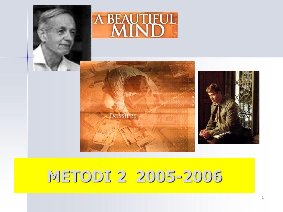 1 METODI 2 2005-2006