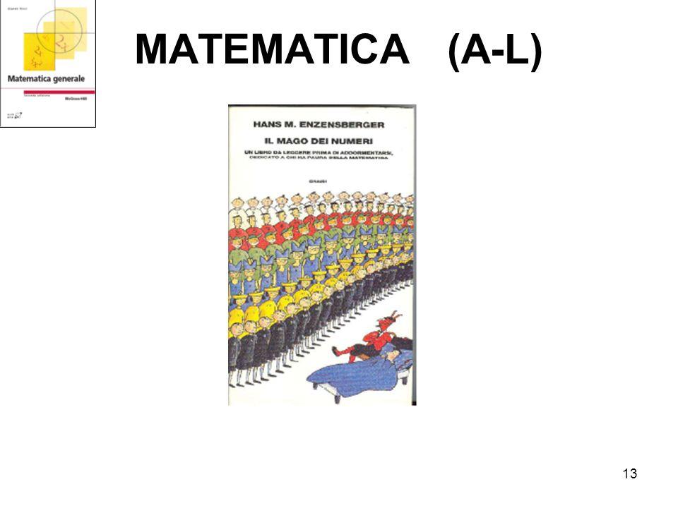 13 MATEMATICA (A-L)