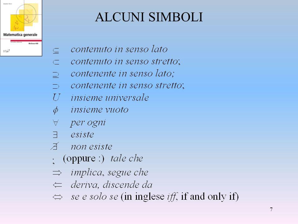ALCUNI SIMBOLI 7