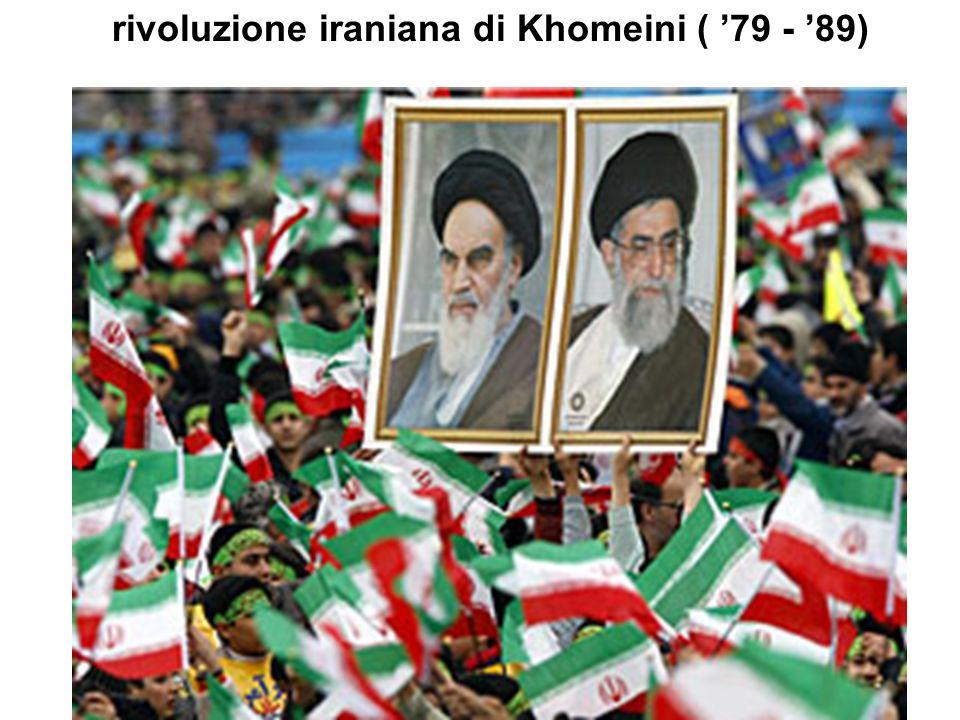 43 rivoluzione iraniana di Khomeini ( 79 - 89)