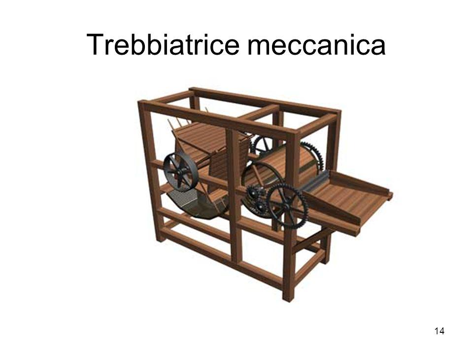 14 Trebbiatrice meccanica