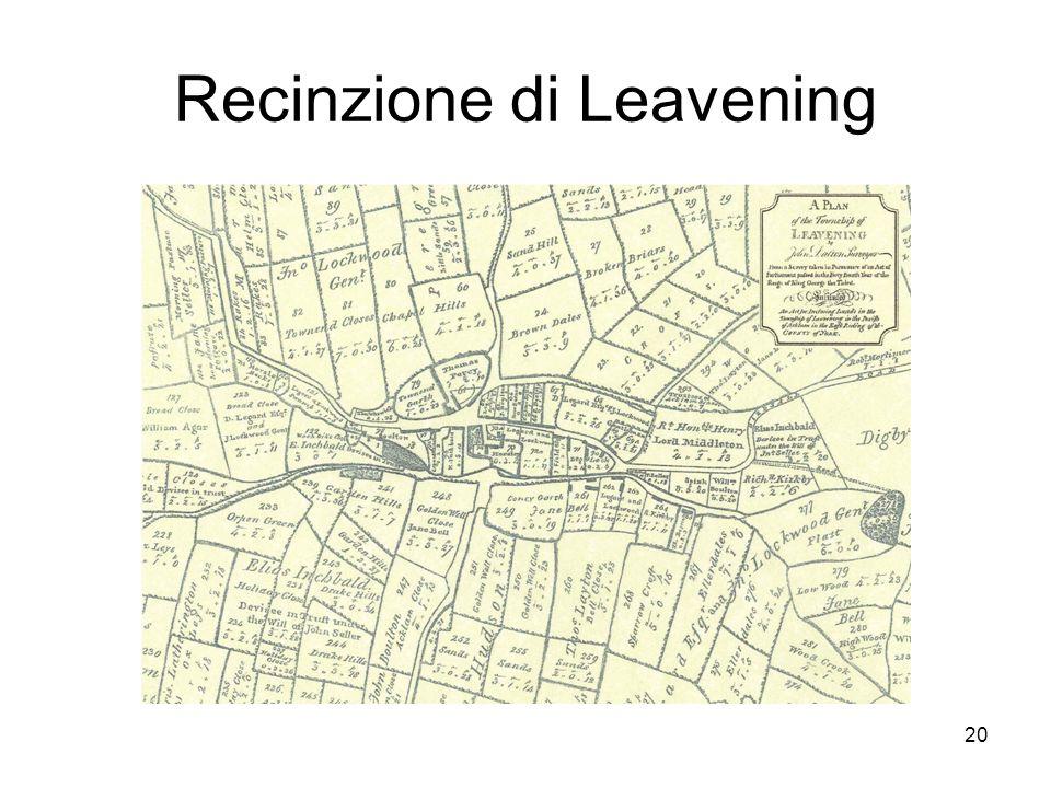 Recinzione di Leavening 20