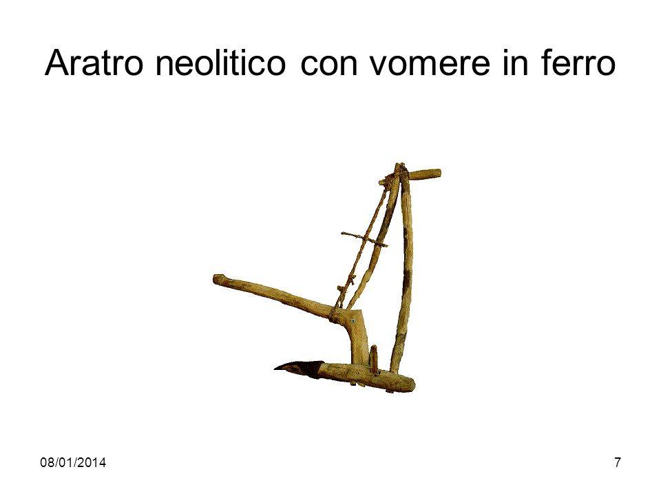 08/01/20147 Aratro neolitico con vomere in ferro