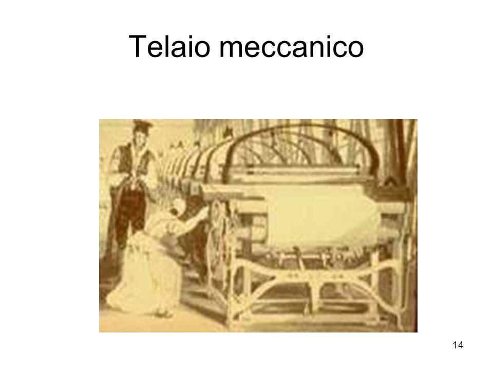 14 Telaio meccanico