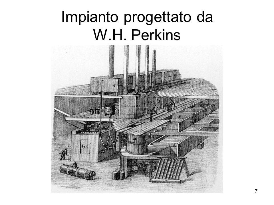 7 Impianto progettato da W.H. Perkins