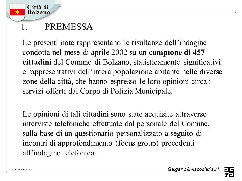 Galgano & Associati s.r.l. Comune BZ- relaz.PM - 24