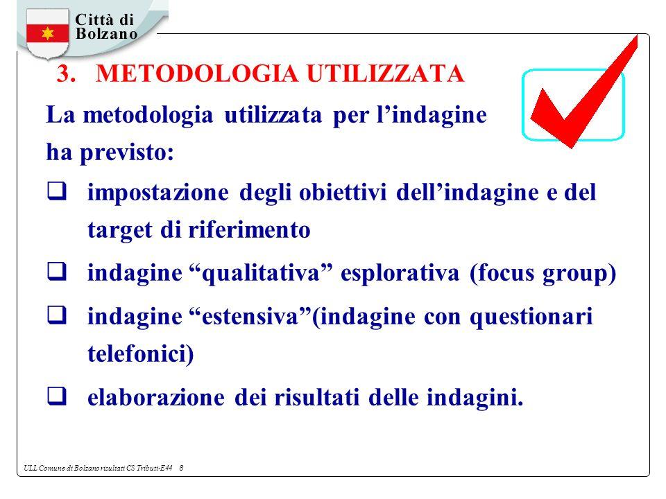 ULL Comune di Bolzano risultati CS Tributi-E44 8 3.