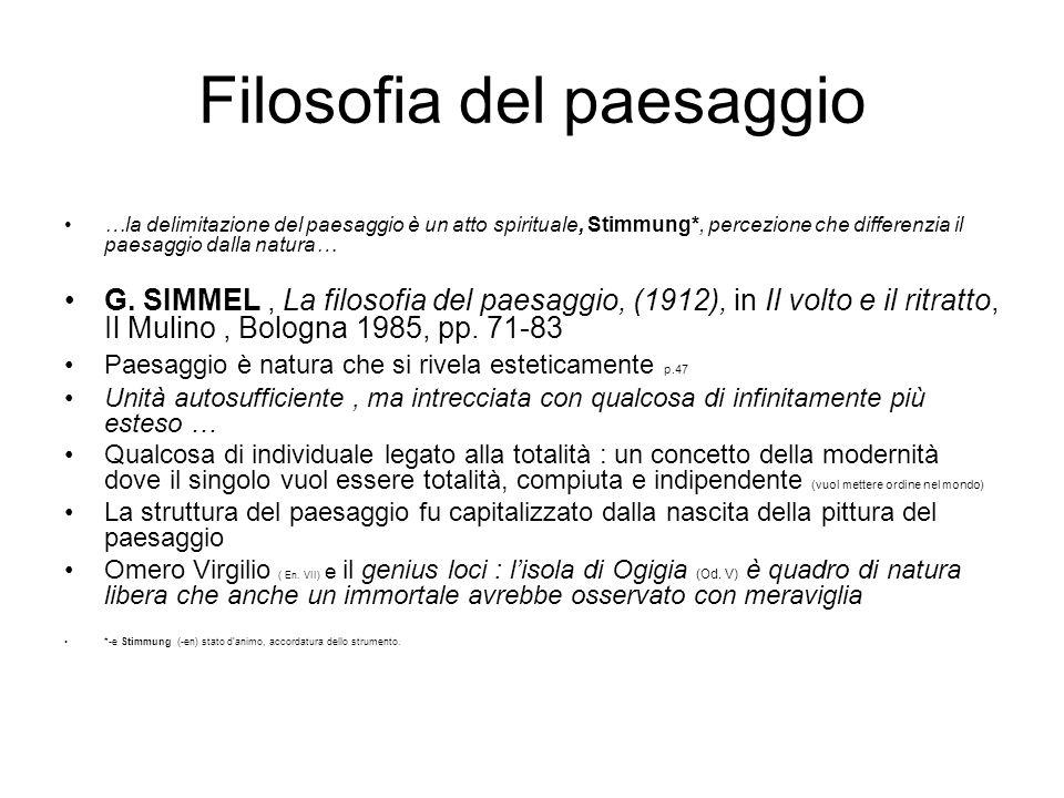 J.Ritter, Paesaggio.