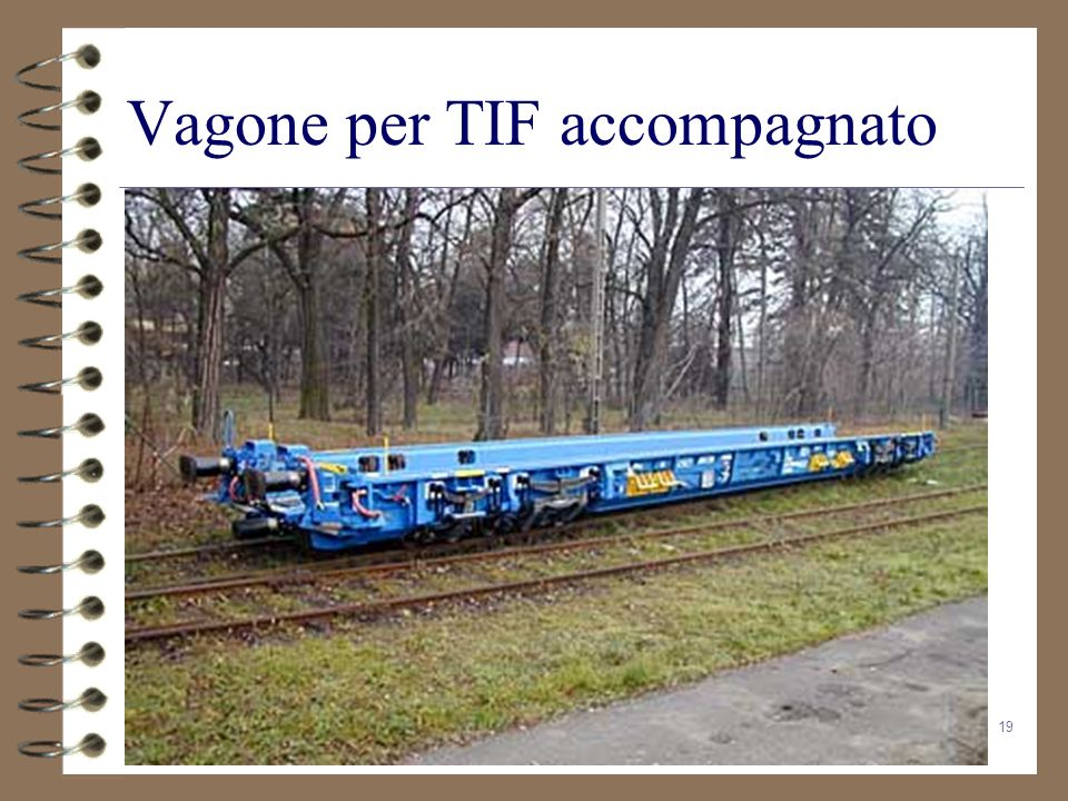 19 Vagone per TIF accompagnato