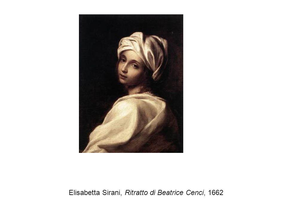 Elisabetta Sirani, Ritratto di Beatrice Cenci, 1662