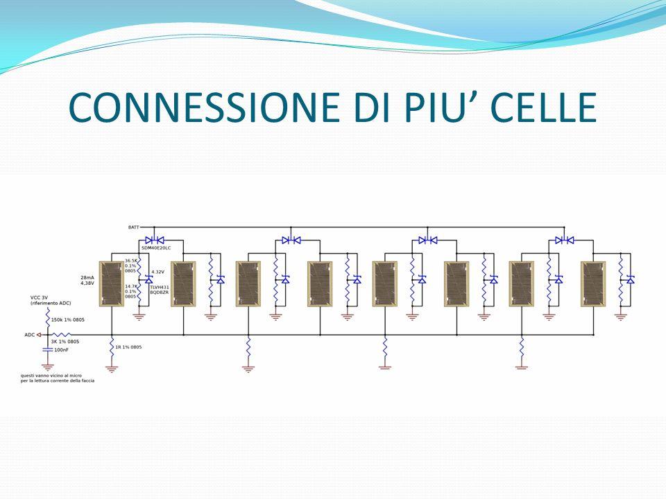 CONNESSIONE DI PIU CELLE