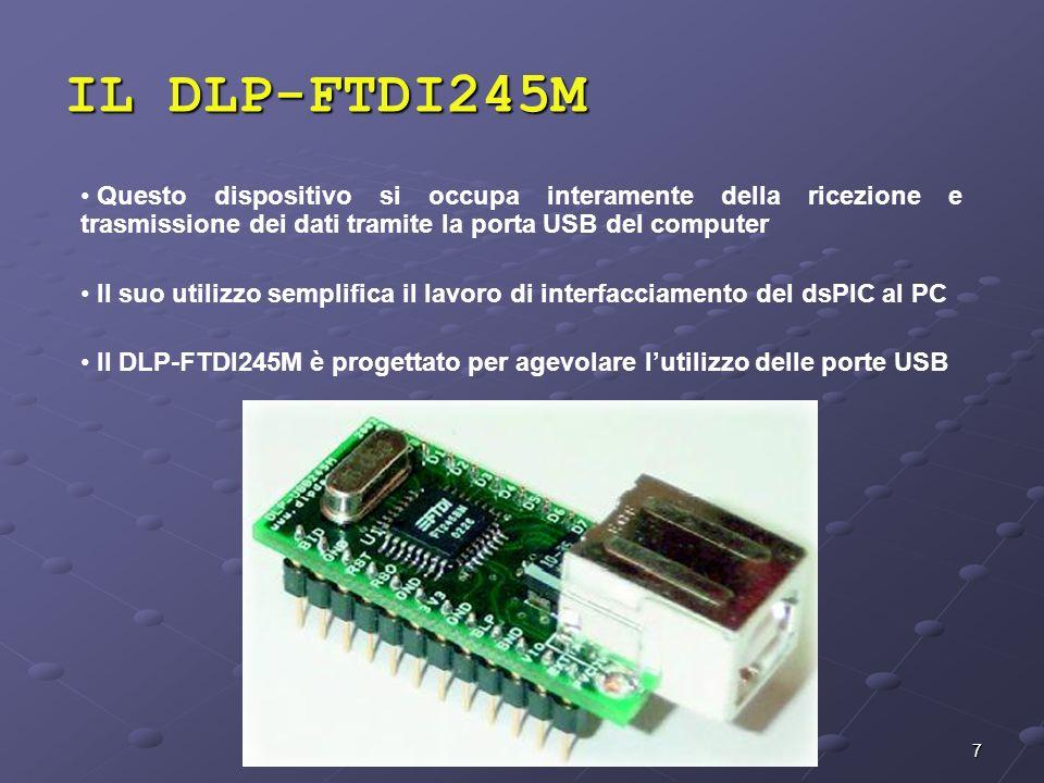 7 Questo dispositivo si occupa interamente della ricezione e trasmissione dei dati tramite la porta USB del computer Il suo utilizzo semplifica il lav