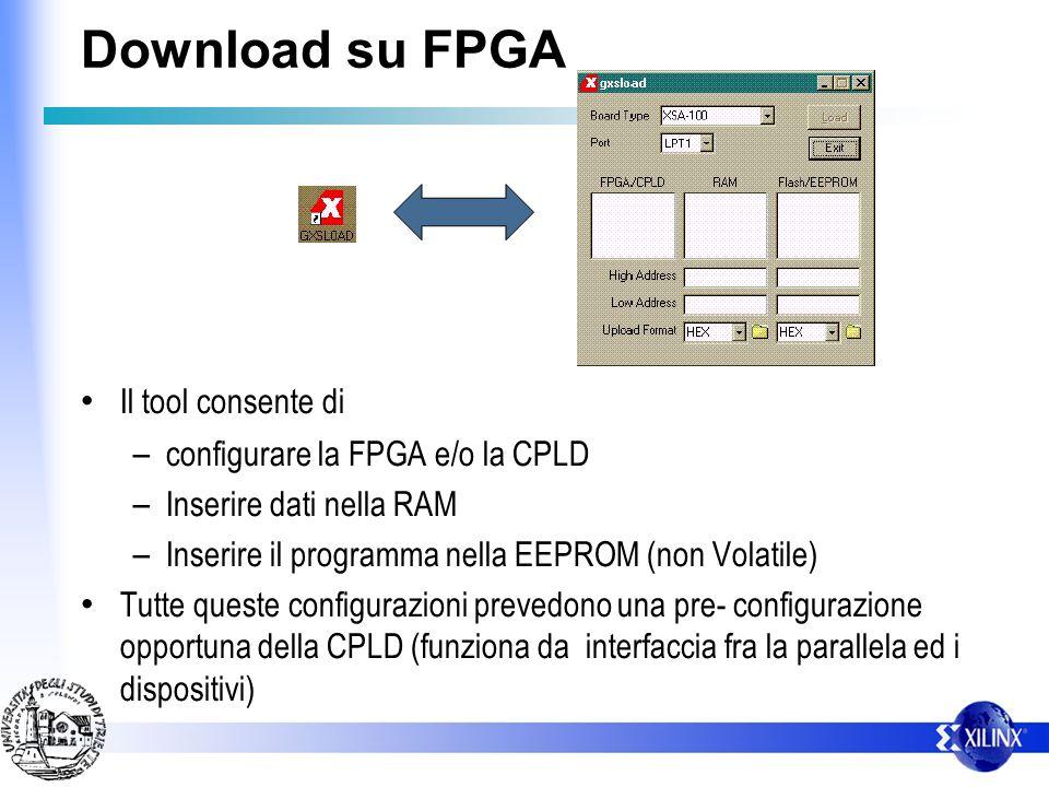 Configurazione del CLOCK Per garantire I/O allo stato alto in accensione si deve: ponticellare J6 disconnettere la parallela NC p64 Vcc I/O
