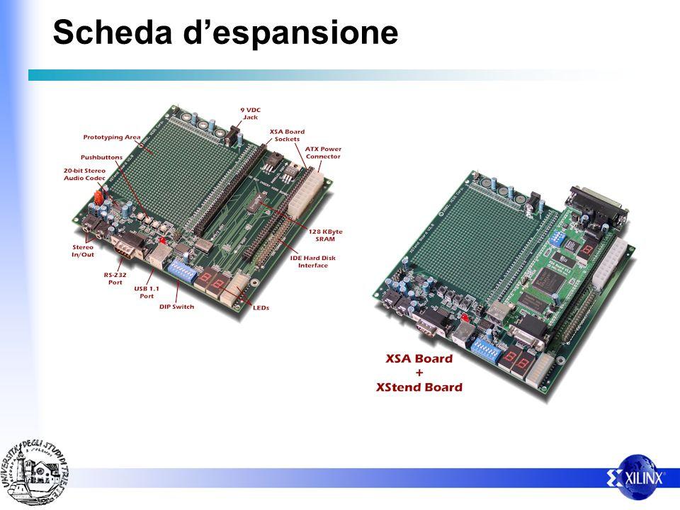 Porta PS2 I dati sulla porta PS2 viaggiano in forma seriale su due segnali: – CLOCK – DATA Sul segnale DATA e connesso un pulsante con resistenza di pull-up – quando premuto si ottiene sulla linea DATA un segnale logico basso