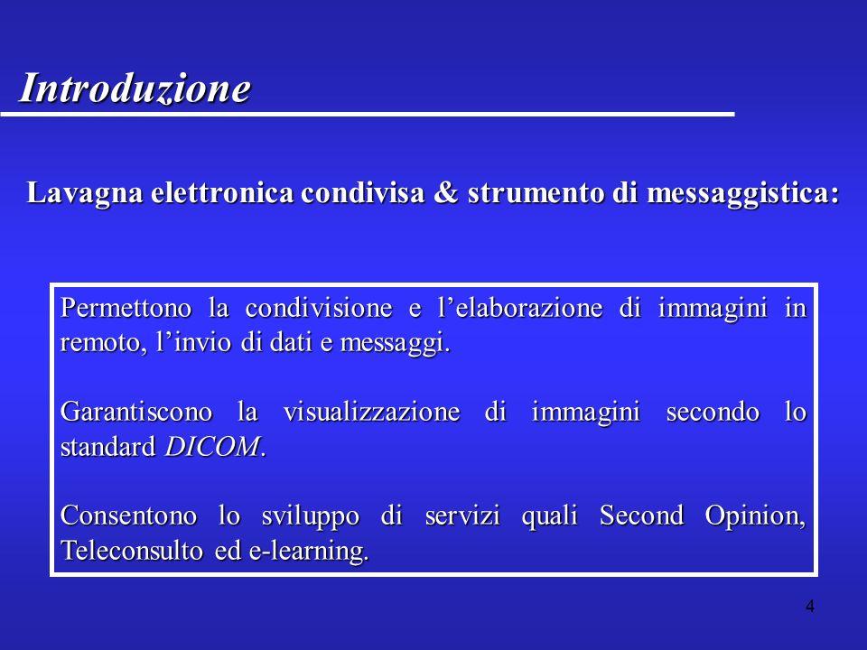 5 Struttura IntroduzioneIntroduzione Servizi di telemedicinaServizi di telemedicina Tecnologie per il progettoTecnologie per il progetto Progettazione ed implementazioneProgettazione ed implementazione ConclusioniConclusioni