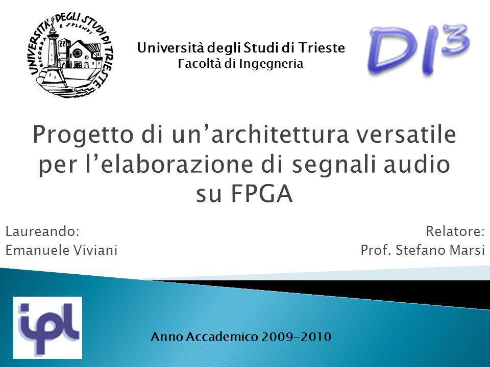 Laureando: Emanuele Viviani Università degli Studi di Trieste Facoltà di Ingegneria Relatore: Prof. Stefano Marsi Anno Accademico 2009-2010