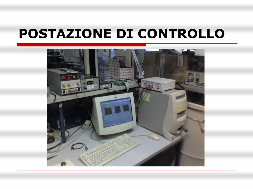 POSTAZIONE DI CONTROLLO