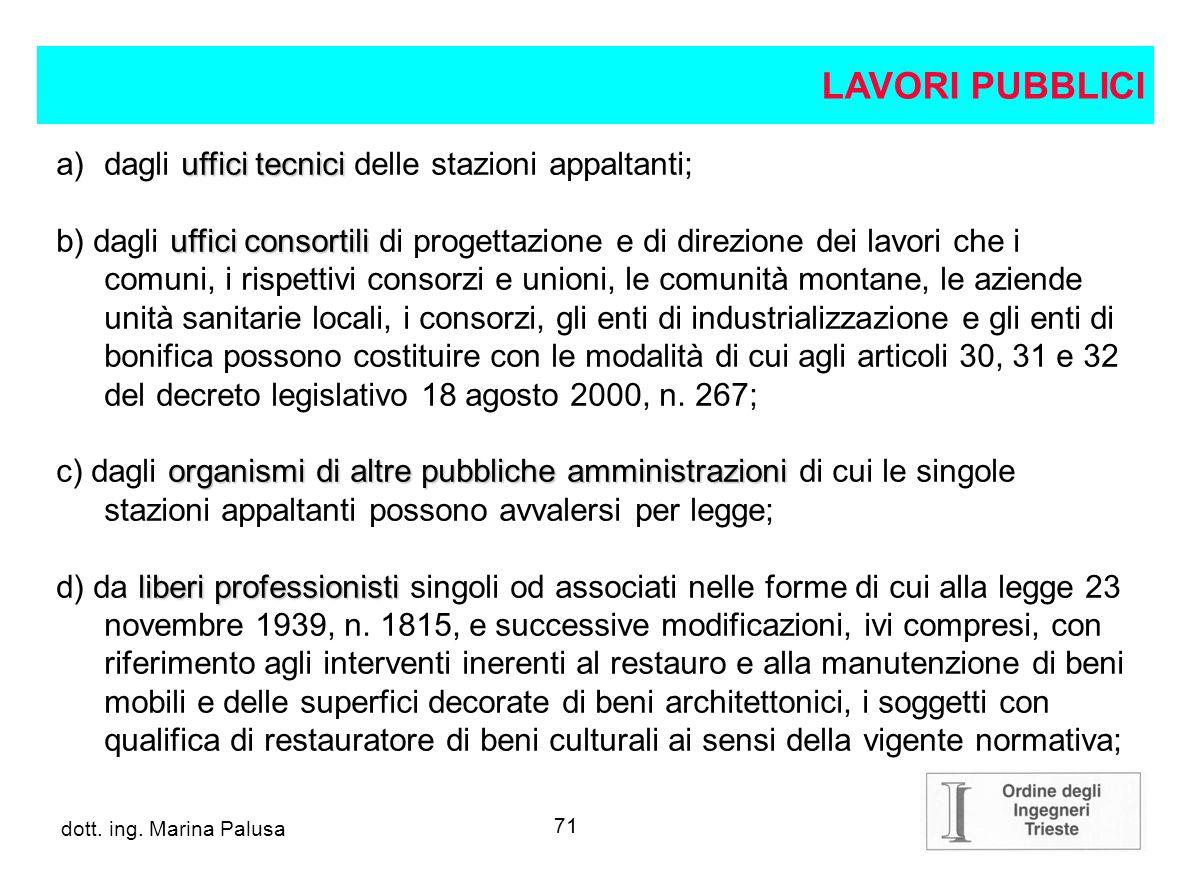 70 dott.ing. Alberto Guglia Decreto legislativo 12 aprile 2006, n.