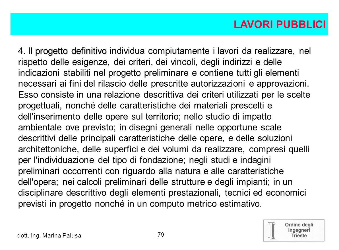 78 dott.ing. Alberto Guglia progetto preliminare 3.