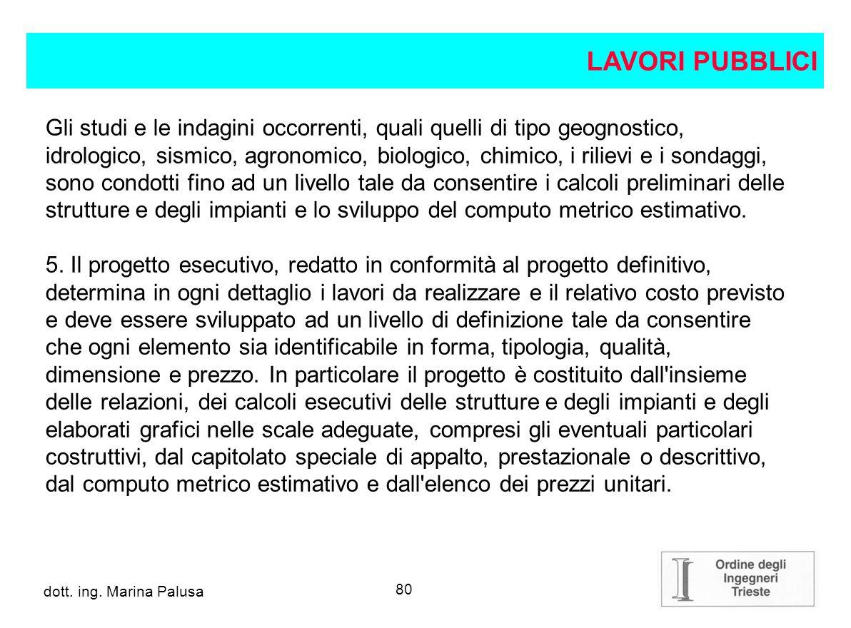 79 dott.ing. Alberto Guglia progetto definitivo 4.