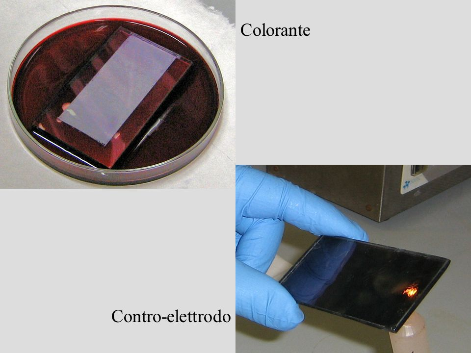 Colorante Contro-elettrodo
