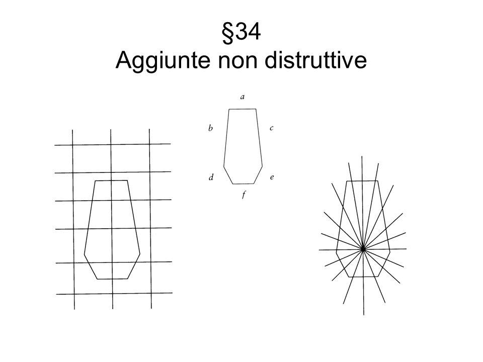 §34 Aggiunte non distruttive
