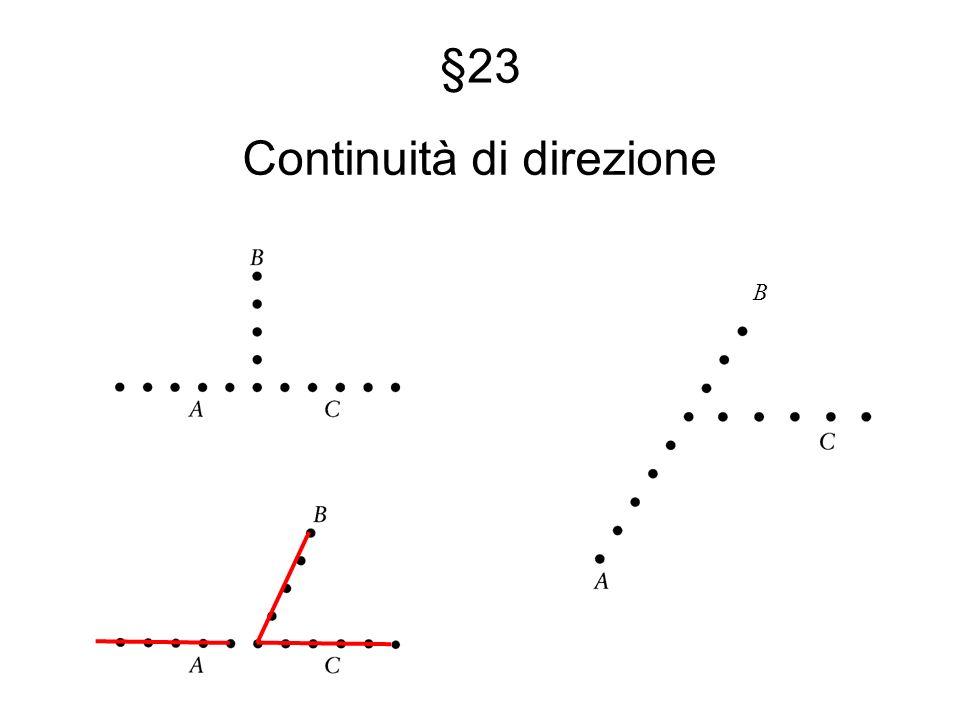 §23 Continuità di direzione B